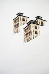 Shams ol Emareh palace (Acrylic on paper, 33 x 48cm)