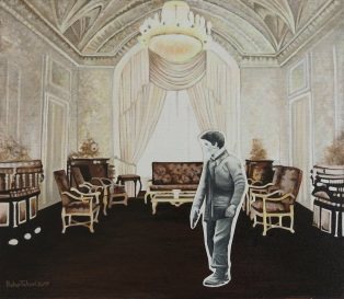 The Golestan Palace,2014,Acrylic on paper,28.24cm_small