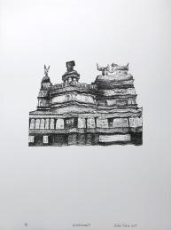 The Notre Dame de Bon Secours Chapel (Lithography, 28x38cm)
