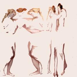 The Three Graces, digital print, 120x120cm